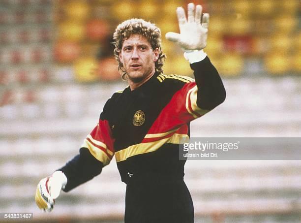 Toni Schumacher Fußballtorwart der deutschen Nationalmannschaft während der Weltmeisterschaft 1986 in Mexiko