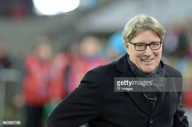 Toni Schumacher of Koeln looks on during the Bundesliga match between 1 FC Koeln and Hertha BSC at RheinEnergieStadion on November 26 2017 in Cologne...