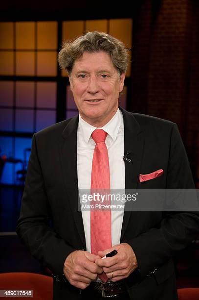 Toni Schumacher Vice President of the 1st FC Cologne Soccer Club attends the 'Koelner Treff' TV Show at the WDR Studio on May 09 2014 in Cologne...