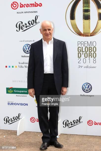 Toni Servillo attends Globi D'Oro awards ceremony at the Academie de France Villa Medici on June 13 2018 in Rome Italy