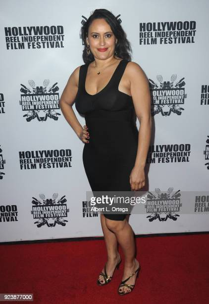 Toni Torres attends the 17th Annual Hollywood Reel Independent Film Festival Award Ceremony Red Carpet Event held at Regal Cinemas LA LIVE Stadium 14...
