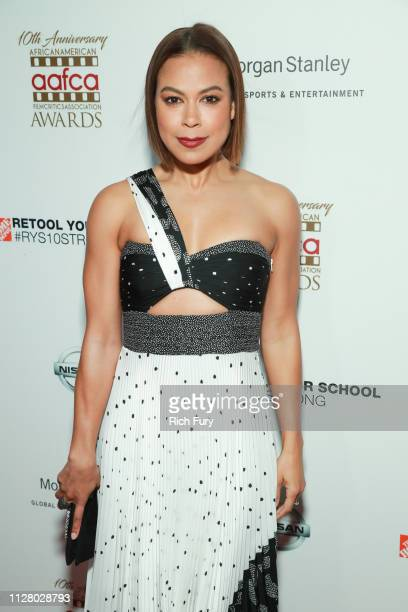 Toni Trucks attends the 10th Annual AAFCA Awards at Taglyan Complex on February 06 2019 in Los Angeles California