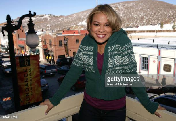 Toni Trucks during 2007 Sundance Film Festival Weapons Outdoor Portraits in Park City Utah United States