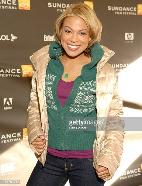 Toni Trucks during 2007 Sundance Film Festival Weapons Premiere at Racquet Club Theater in Park City Utah United States