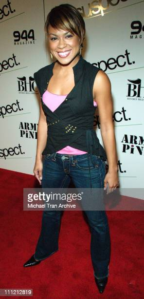 Toni Trucks during 944 Magazine Fashion Show Presents Suspect Army Pink October 20 2005 at Element in Hollywood California United States
