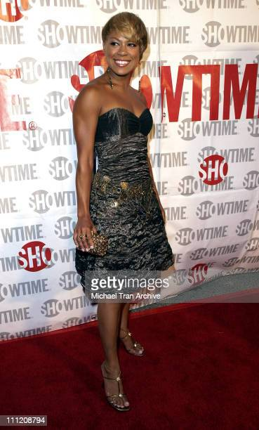 Toni Trucks during Showtime Presents Weeds and Barbershop Los Angeles Premiere at Paramount Theater At Paramount Studios in Hollywood California...