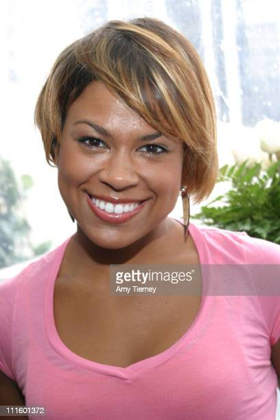 Toni Trucks during Showtime Style Lounge 2006 at Luxe Hotel in Beverly Hills California United States