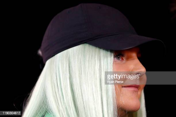 Toni Watson aka Tones and I arrives for the 33rd Annual ARIA Awards 2019 at The Star on November 27 2019 in Sydney Australia