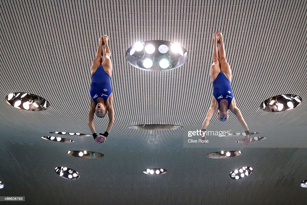 FINA/NVC Diving World Series 2014 - Day One : News Photo