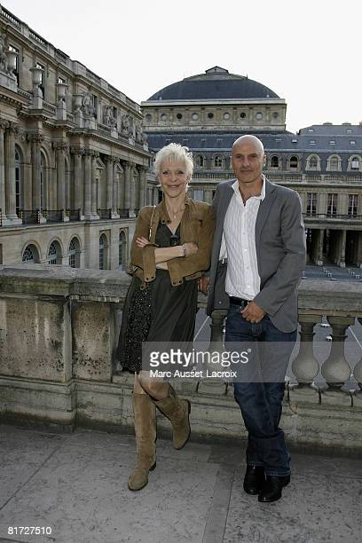 Tonie Marshall and a guest attend the launching of the 24eme Fete du Cinema at Ministere de al Culture on June 26 2008 in Paris France