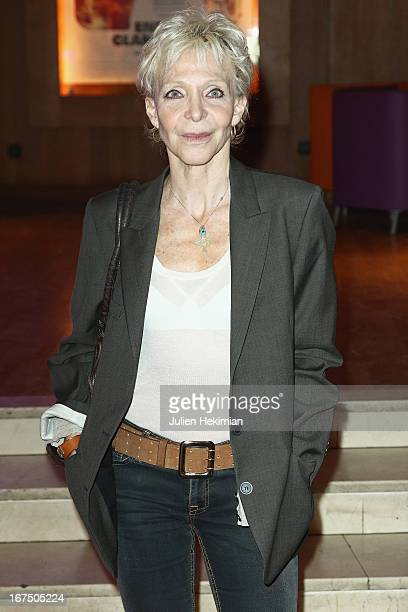 Tonie Marshall attends 'Alias Caracalla' Paris Premiere at Cinema l'Arlequin on April 25 2013 in Paris France