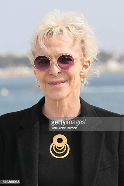 Tonie Marshall attends 'Cannabis' Photocall as part of MIPTTV 2016 on April 5 2016 in Cannes France