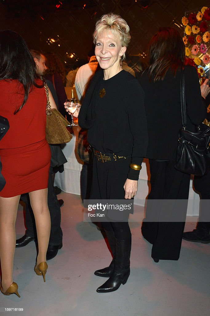 Tonie Marshall attends 'Les Lumieres 2013' Cinema Awards 18th Ceremony at La Gaite Lyrique on January 18, 2013 in Paris, France.