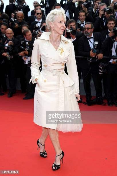 Tonie Marshall attends the 70th Anniversary screening during the 70th annual Cannes Film Festival at Palais des Festivals on May 23 2017 in Cannes...