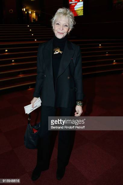 Tonie Marshall attends the Alex Lutz One Man Show At L'Olympia on February 8 2018 in Paris France