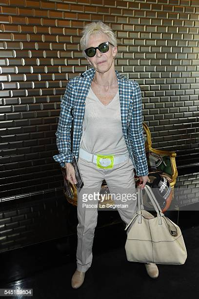 Tonie Marshall attends the Jean Paul Gaultier Haute Couture Fall/Winter 20162017 show as part of Paris Fashion Week on July 6 2016 in Paris France