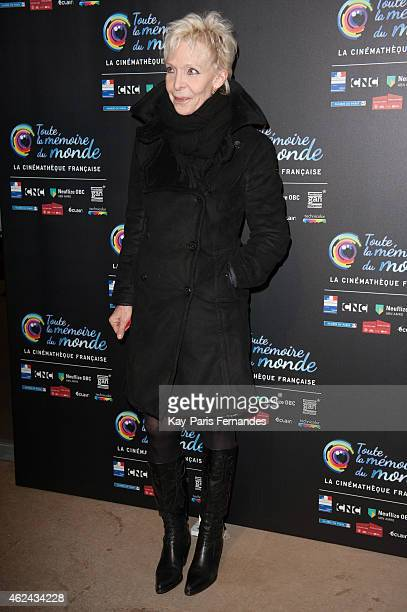 Tonie Marshall attends the 'Toute La Memoire Du Monde' 3rd Film Festival at Cinematheque Francaise on January 28 2015 in Paris France