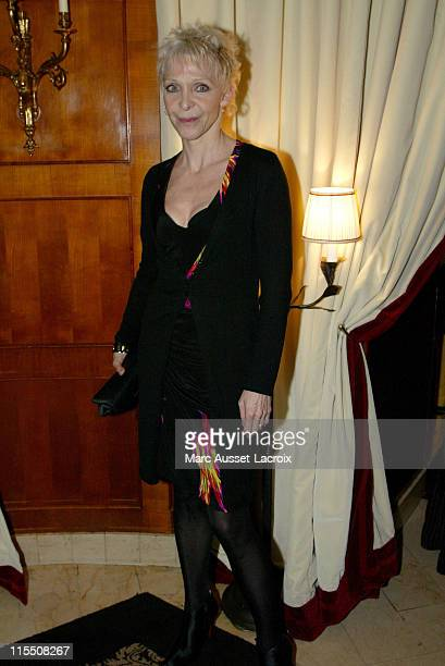 Tonie Marshall during 2007 Cesars Awards Nomination Dinner at Le Fouquet's in Paris France