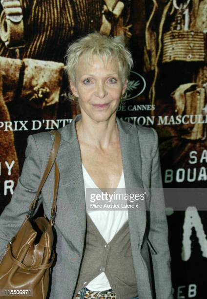 Tonie Marshall during Indigenes Paris Premiere at UGC Normandy Theater in Paris France
