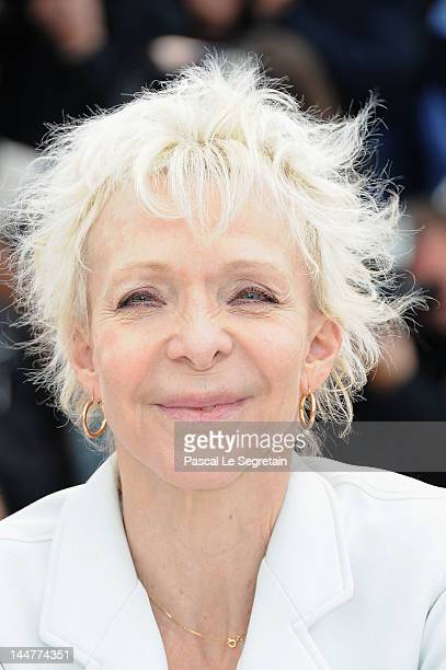 Tonie Marshall poses at the Jury Un Certain Regard photocall during the 65th Annual Cannes Film Festival at Palais des Festivals on May 19 2012 in...