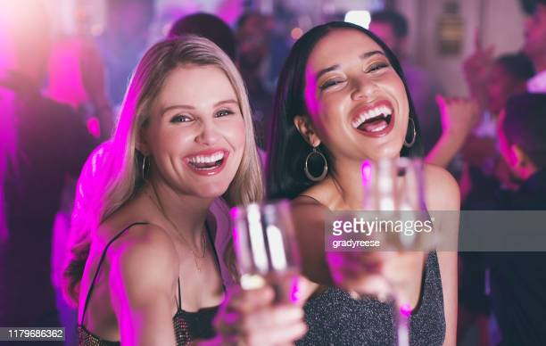 tonight we toast to you! - ladies' night stock pictures, royalty-free photos & images