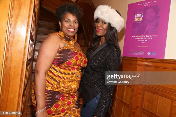 M Tonita Austin and Michelle Ester attend NYC Book Launch of TONI'S ROOM By M Tonita Austin With A Donation To The Lung Cancer Foundation Of America...