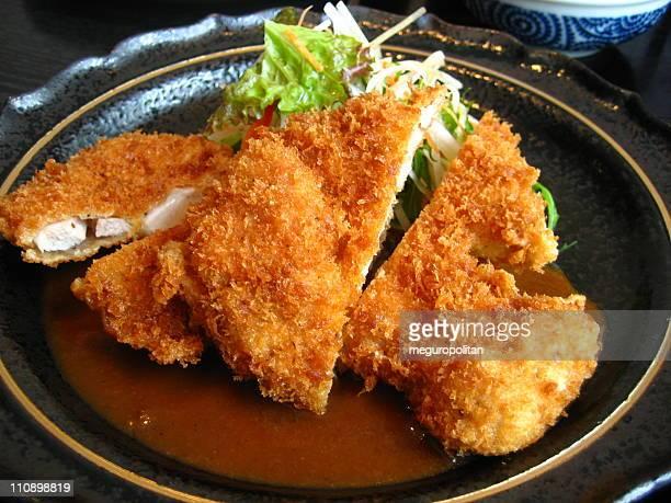 tonkatsu - côtelette photos et images de collection