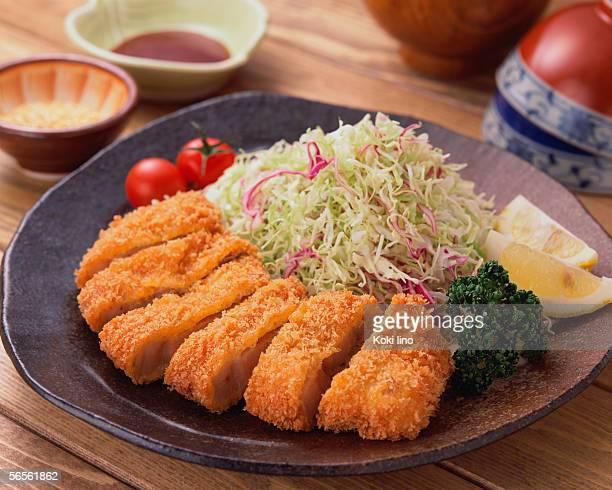 tonkatsu - tonkatsu imagens e fotografias de stock