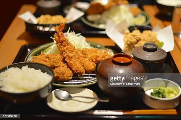 Tonkatsu Teishoku, Japanese set meal, Kyoto
