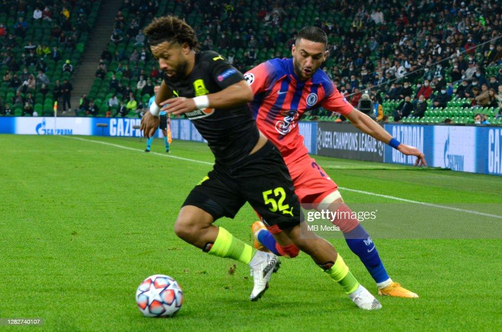 FC Krasnodar v Chelsea FC: Group E - UEFA Champions League : ニュース写真