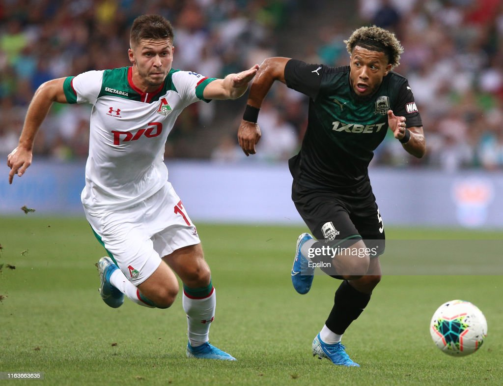 FC Krasnodar vs FC Lokomotiv Moscow - Russian Premier League : News Photo
