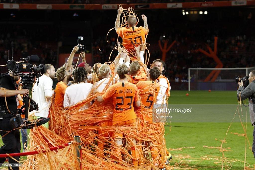 International friendly match'The Netherlands v Peru' : News Photo