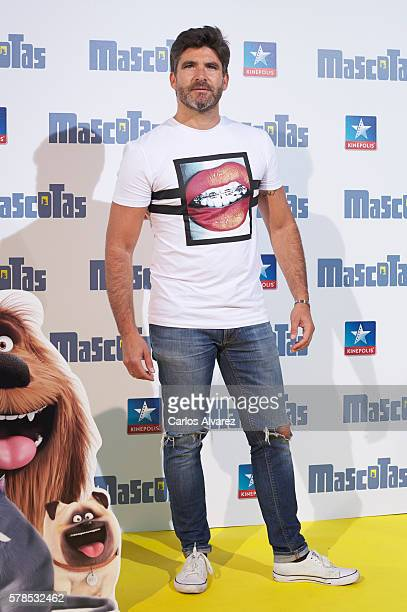 Tono Sanchis attends 'Mascotas' premiere at Kinepolis cinema on July 21 2016 in Madrid Spain