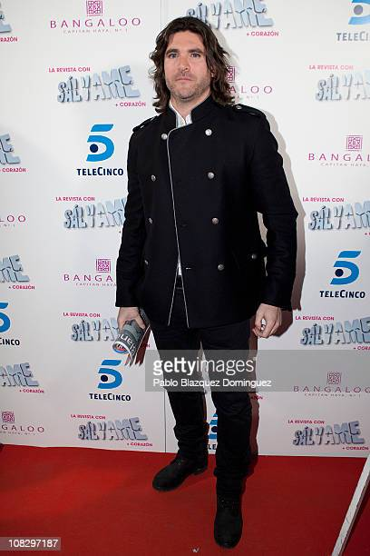 Tono Sanchis attends 'Salvame' Magazine presentation at Sala Bangaloo on January 24 2011 in Madrid Spain