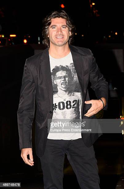 Tono Sanchis attends Terelu's 50th birthday party on September 23 2015 in Madrid Spain