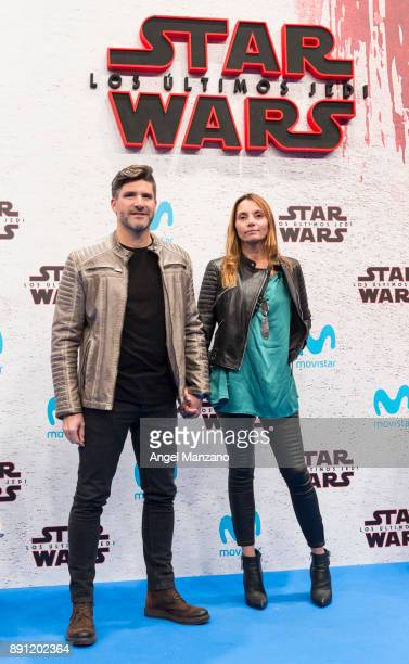 Tono Sanchis attends the 'Star Wars Los Ultimos Jedi' Madrid Premiere at Kinepolis Cinema on December 12 2017 in Madrid Spain