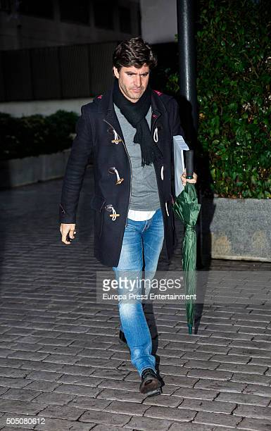 Tono Sanchis is seen on January 14 2016 in Madrid Spain