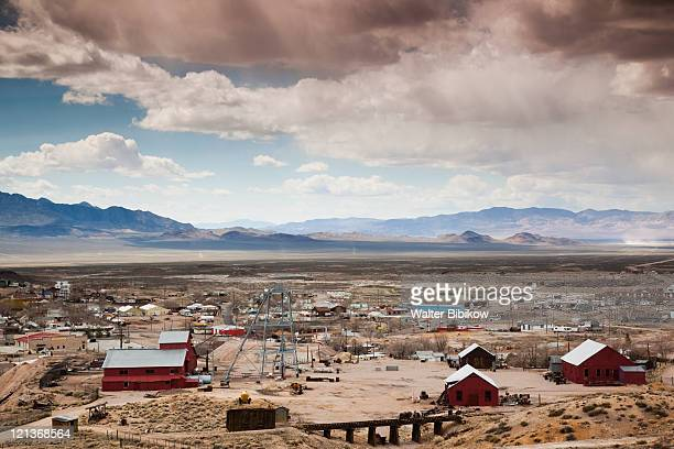 tonopah historic mining park - great basin stock pictures, royalty-free photos & images
