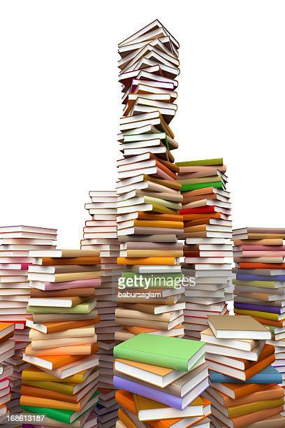 Tons of books everwhere