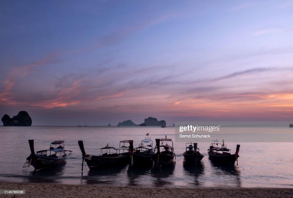 Tonsai Beach Sunset : Stock-Foto