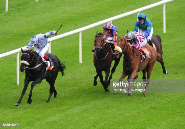Tonton Macoute ridden by Fran Berry win The Saadiyat Handicap during the Guineas Spring Festival at The Curragh Racecourse Co Kildare Ireland