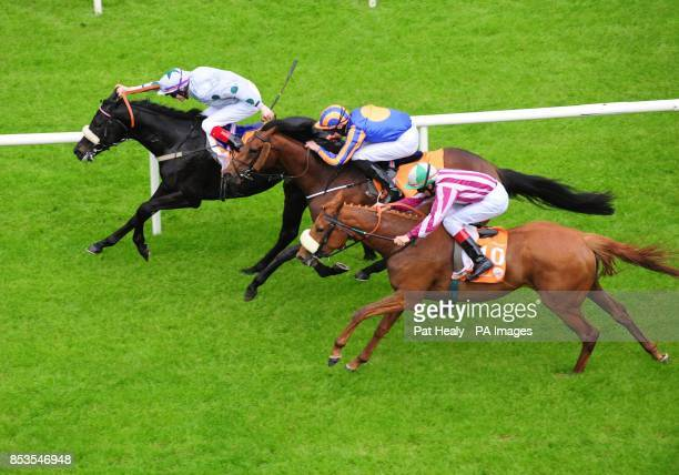 Tonton Macoute ridden by Fran Berry wins The Saadiyat Handicap during the Guineas Spring Festival at The Curragh Racecourse Co Kildare Ireland