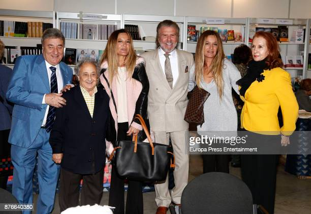 Tony Antonio Pepe Caravias Las Mellis and Bigote Arrocet attend the charity market 'Rastrillo Nuevo Futuro' on November 18 2017 in Madrid Spain