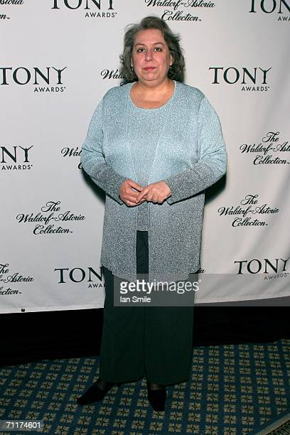 Tony Award Nominee Jayne Houdyshell attends The Tonys Awards Honor Presenters And Nominees at Waldorf Astoria in New York on June 10 2006 in New York