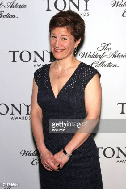 Tony Award Nominee Lisa Kron attends The Tony Awards Honor Presenters And Nominees at the Waldorf Astoria on June 10 2006 in New York