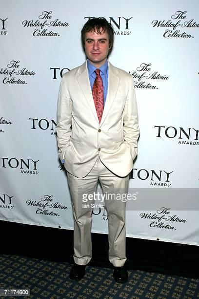 Tony Award nominee Manoel Felciano attends The Tony Awards Honor Presenters And Nominees at the Waldorf Astoria on June 10 2006 in New York