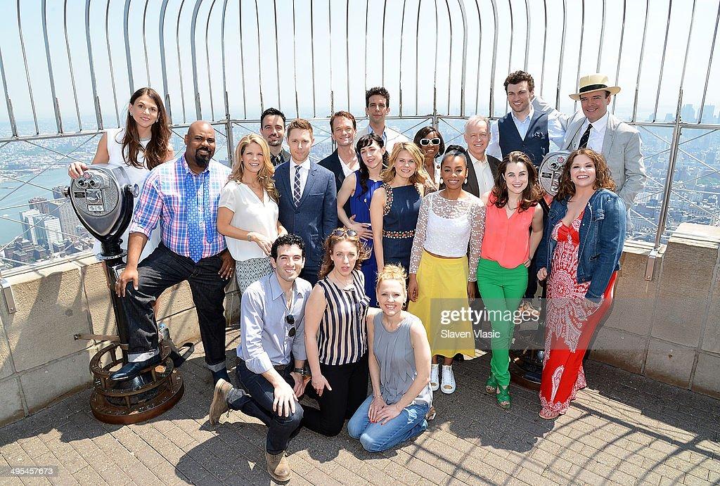 Empire State Building Hosts 2014 Tony Award Nominees