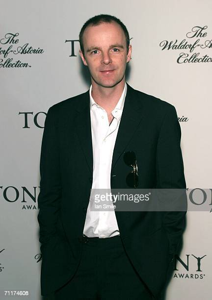Tony Award Winner Brian F O'Byrne attends The Tonys Awards Honor Presenters And Nominees at Waldorf Astoria in New York on June 10 2006 in New York