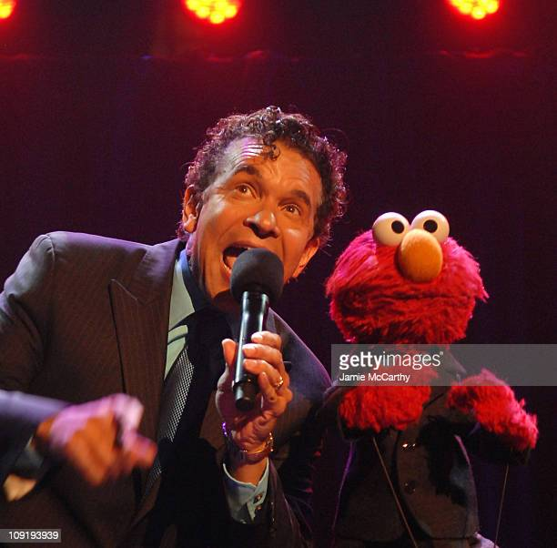 Tony Award Winner Brian Stokes Mitchell and Sesame Street's Elmo at Sesame Workshop's 5th Annual Benefit Gala Wednesday May 30th at Cipriani 42nd...