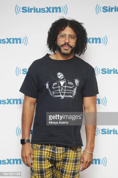 Tony Award winner Daveed Diggs visits SiriusXM Studios on July 19 2018 in New York City